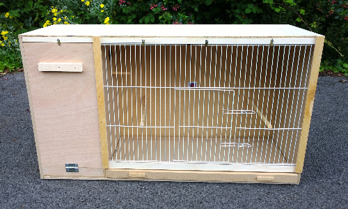Cockatiel Parakeet Lovebird Breeding Cage Lh Nest Box