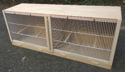 Double Finch Breeding Cage Sheet Material Cutting
